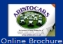 Aristocars Wedding Car Hire Essex brochure