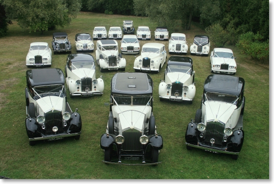 Wedding cars Essex - Aristocars fleet of Essex wedding cars