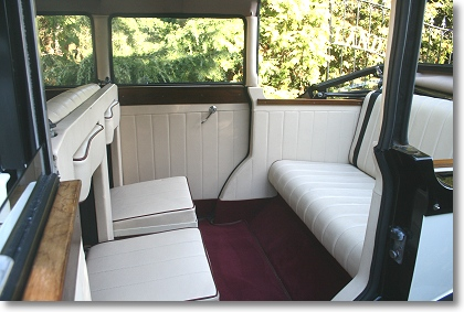 Regent in Ivory Interior shot